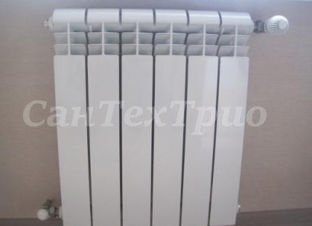 Монтаж радиаторов отопления на Уралмаше