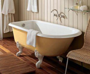Монтаж чугунной ванны в Екатеринбурге