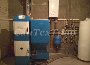 Монтаж котлов и систем отопления