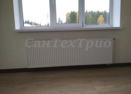 Монтаж радиаторов в КП Черёмушки